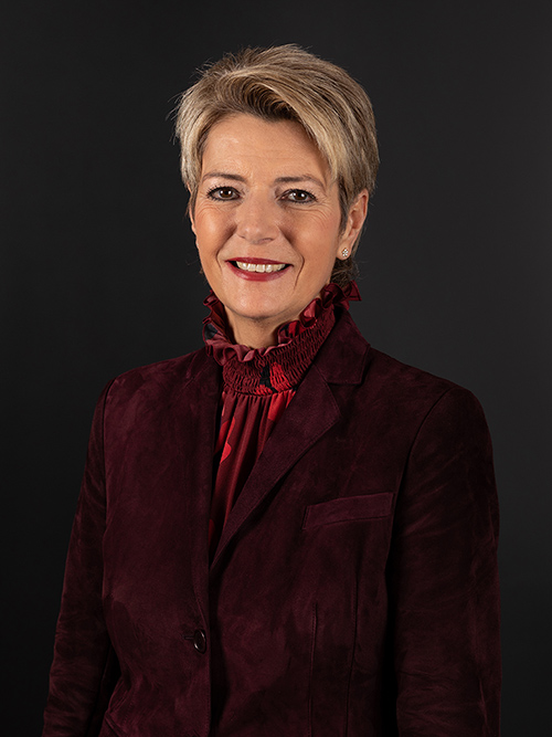 Signed photograph of the Federal Councillor Karin Keller-Sutter
